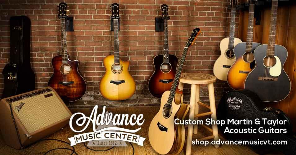 Acoustic guitar promo
